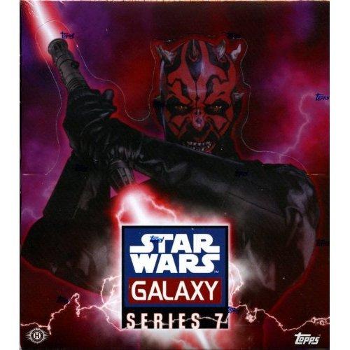 (2012 Topps Star Wars Galaxy 7 box (24 pk HOBBY))