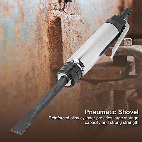 Air Chisel Hammer, Powerful Handle Straight Type Air Chisel Pneumatic Hammer Shovel Tool Concrete Chisel Rust Remover