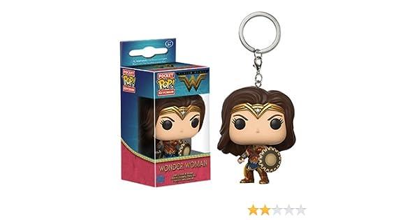 Funko Pop Wonder Woman Keychain, Movie Wonder Woman, Action Figure