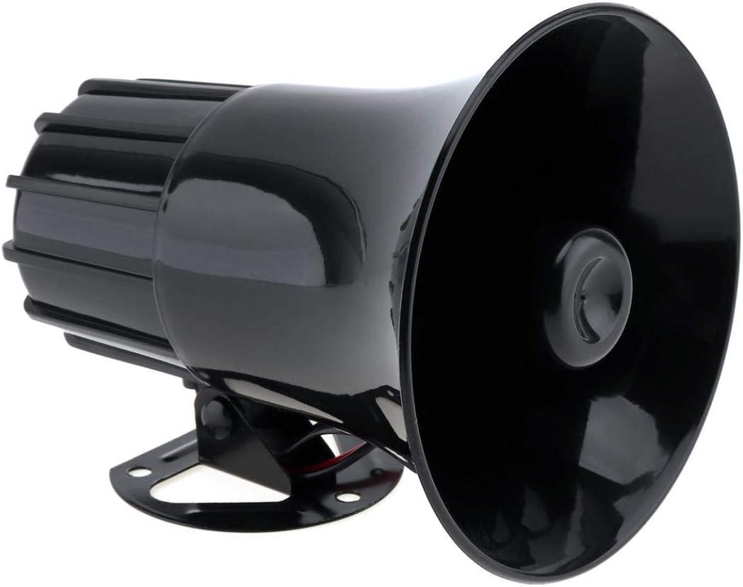 REFURBISHHOUSE 100 Watt 12 V 7 Ton Auto LKW Lautsprecher Alarm Alarm Polizei Feuer Sirene Horn Lauter Ton 105Db Mit Mikrofon Mikrofon