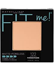 Maybelline New York Fit Me Matte + Poreless Pressed Face Powder Makeup, Creamy Beige, 0.28 Ounce, Pack of 1