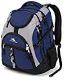 High Sierra Access Backpack, True Navy/Ash/Black, 20 x 15 x 9.5-Inch