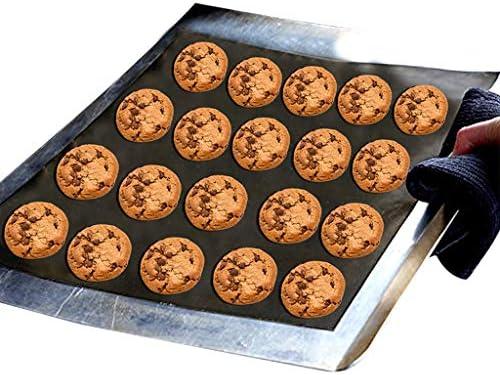 luosh BBQ Grillmatte, Wiederverwendbare und backende Mesh-Kochunterlage Mikrowellenofenmatte für den Innen- und Außengrill Arbeitet auf elektrischen Holzkohlegrillblättern