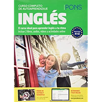 Curso Pons Ingles A1 + A2+ 4CD (Audio MP3)+DVD 2014 (Spanish Edition)