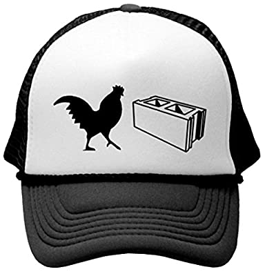 COCK BLOCK - Unisex Adult Trucker Cap Hat