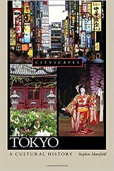 Book Tokyo A Cultural History (Cityscapes)