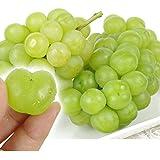 国華園 岡山産 瀬戸ジャイアンツ 2房 1kg以上 1箱 高級ぶどう 高糖度 皮ごと食べられる大粒ぶどう 葡萄