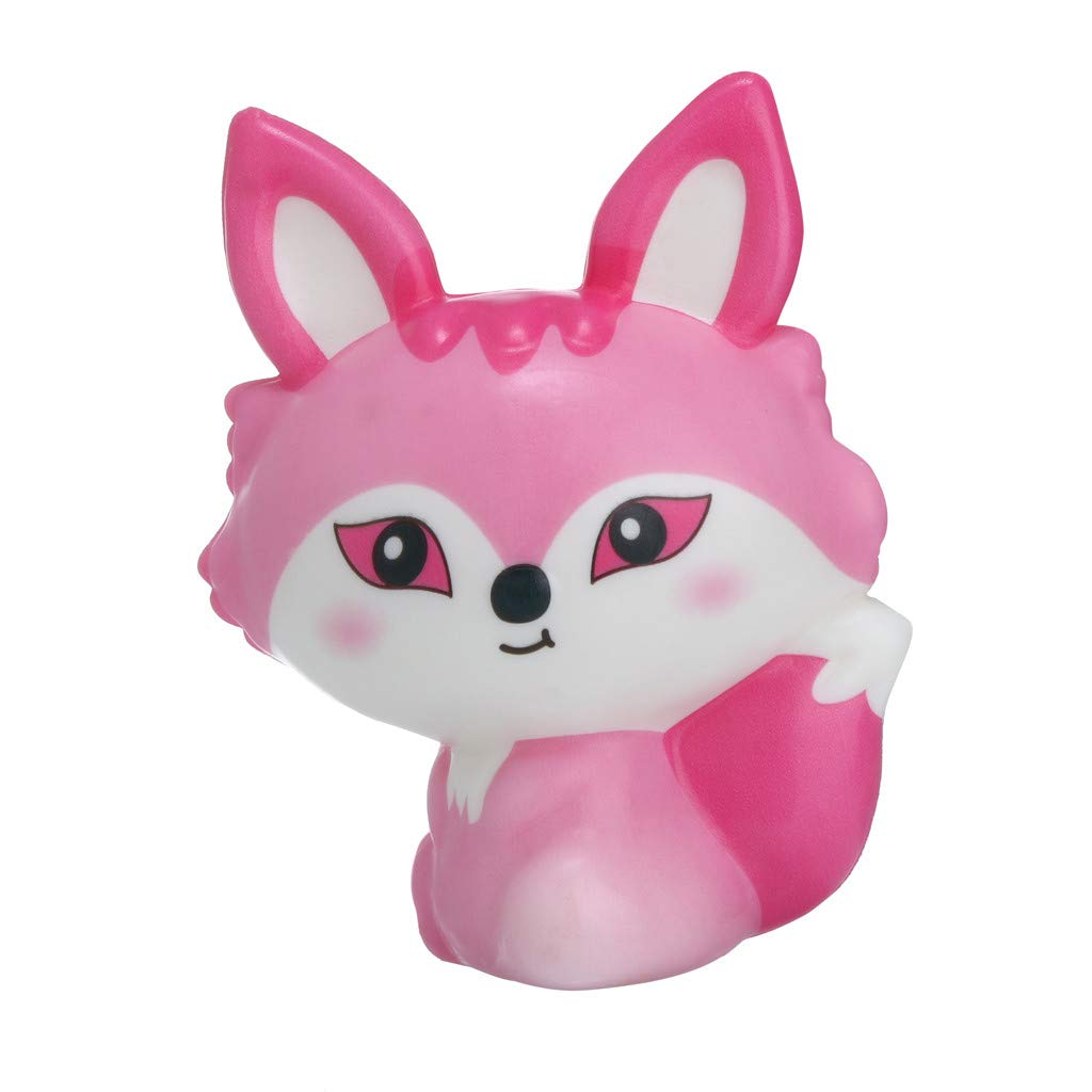 Dianli Multicolor Squeeze Toy Kawaii Animals Slow Rising Cream Scented Instant Stress Relief Toys Gifts Eco-Friendly Materials for Baby Early Childhood Education Toys