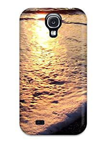 Ultra Slim Fit Hard Case Cover Specially Made For Galaxy S4- Beach