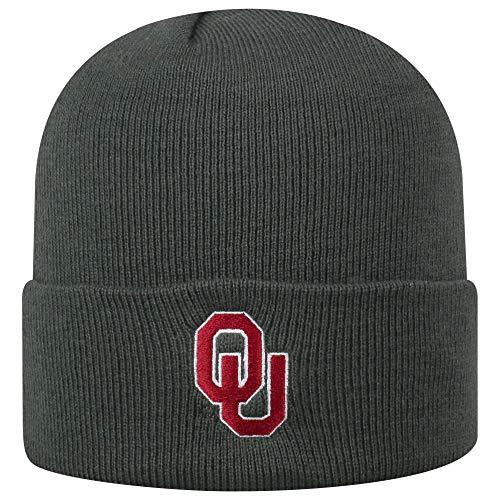 fc186e47f42b3 Oklahoma Sooners Cuffed Knit Hats. Top of the World ...