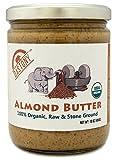 Dastony - 100% Organic Almond Butter - 16 oz