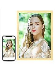 REDWPQ Wow! Gepersonaliseerde foto, schilderen op nummer voor portret bruiloft familie huisdier foto's Aangepaste digitale schilderij kleuren op nummer op canvas kleuren