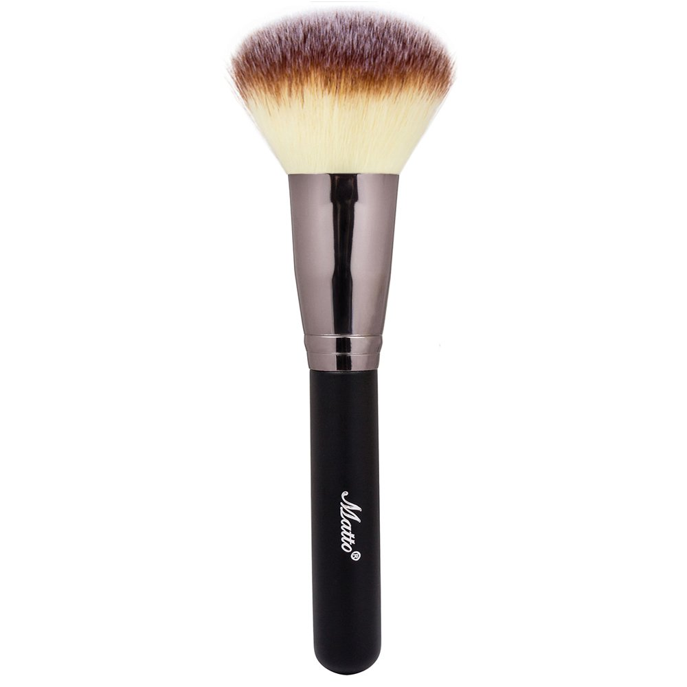 Matto Powder Mineral Brush - Makeup Brush for Large Coverage Mineral Powder Foundation Blending Buffing 1 Piece