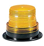 Federal Signal LP6-012-048A Streamline Low Profile Mini Strobe Light, Surface Mount, 12-48 VDC, Amber