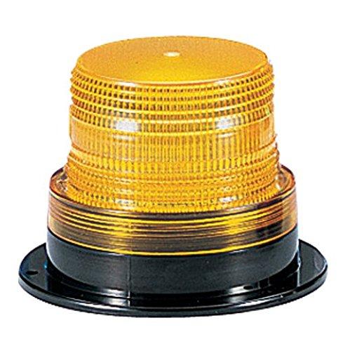 Federal Signal LP6-012-048A Streamline Low Profile Mini Strobe Light, Surface Mount, 12-48 VDC, Amber