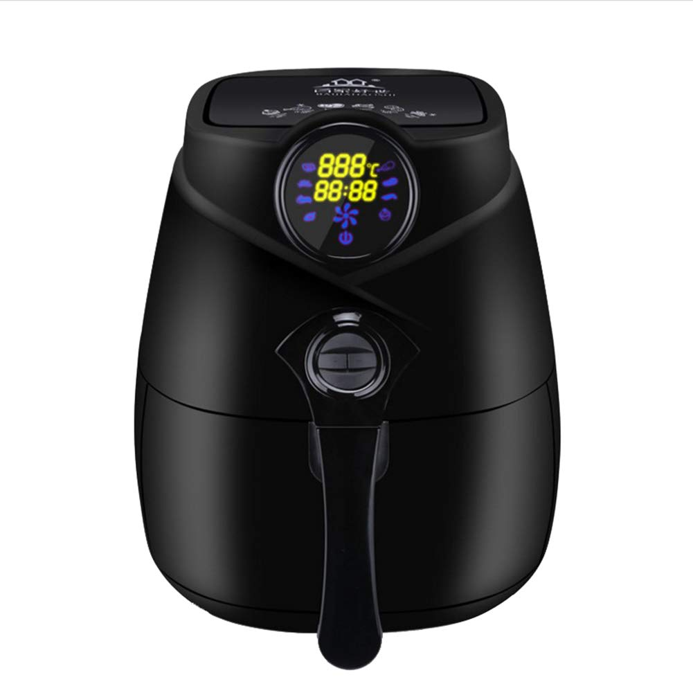 Air Fryer, Smart Touch Screen Fryer/Electric Oven, Oil Free Cooking For Healthy Low Fat Cooking Nonstick Pan, Adjustable Temperature Control And Timer - 1400W-2.5L