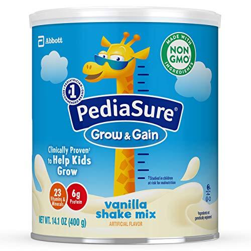 PediaSure Grow & Gain Vanilla Shake Mix, Nutrition Shake for Kids, 14.1 oz, 6 count by Pediasure Powder (Image #14)