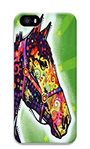 Horse copy Custom iPhone 5s/5 Case Cover Polycarbonate 3D