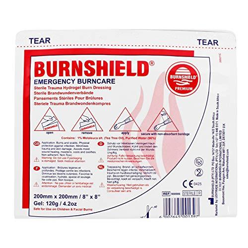 (Burnshield Sterile Emergency Burn Dressing 8