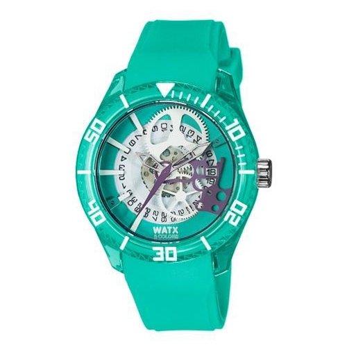 Reloj Watx Skeleton Rwa1914 Mujer Verde