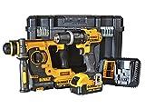 DEWALT 18V Combi Drill Plus Hammer (Pack of 2)