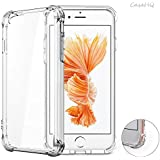 iPhone 7 Case CaseHQ Transparent Clear TPU Slim Fit Advanced Shock-absorbent Scratch-resistant Cover Shockproof...