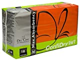 ConfiDry 24/7 Max Absorbency Briefs, Medium, Case/72 (4/18s)
