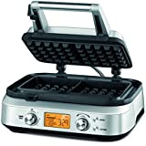 Sage by Heston Blumenthal BWM620UK the Smart Waffle Maker - Silver