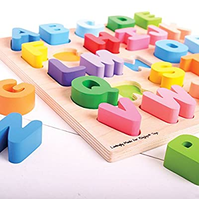 Bigjigs Toys Chunky Alphabet Puzzle - Educational Jigsaw: Industrial & Scientific