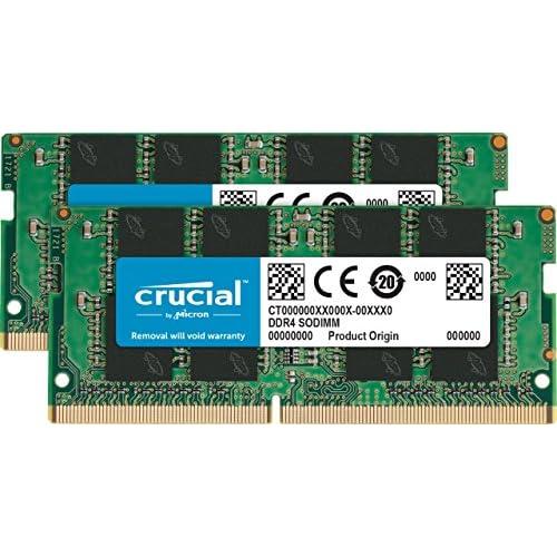 chollos oferta descuentos barato Crucial CT2K4G4SFS624A Kit de Memoria RAM de 8 GB 4 GB x 2 DDR4 2400 MT s PC4 19200 Single Rank x 16 SODIMM 260 Pin
