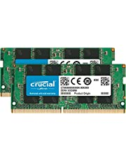 Crucial CT2K32G4SFD832A RAM-laptopgeheugen 64 GB-kit (2 x 32 GB) DDR4 3200 MHz CL22