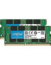 ذاكرة فردية دي دي ار 4 من كروشال (PC4-21300) اس ار اكس 8 سوديم 260 دبوس 16GB Kit (8GBx2) Single Rank CT2K8G4SFS832A