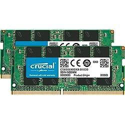 Crucial 8GB Kit (4GBx2) DDR4 2400 MT/S (PC4-19200) SR x8 SODIMM 260-Pin Memory - CT2K4G4SFS824A
