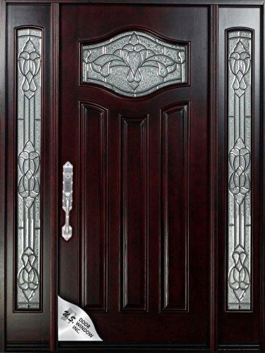Amazon Reay To Install Exterior Front Entry Mahagany Wood Entry