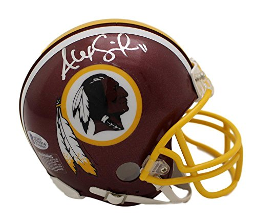 Alex Smith Autographed/Signed Washington Redskins Mini Helmet BAS ()