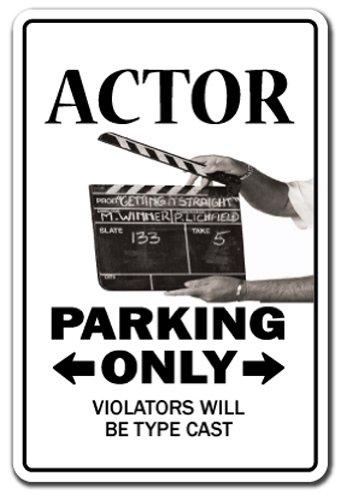 - Actor Decal Parking Actress act tv Film Theater Movies Broadway   Indoor/Outdoor   9