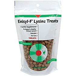 Enisyl-F Lysine Treats For Cats (Immune System Support) - 6.35 ounce (3 Pack)