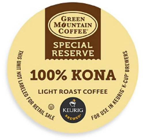 Limited Edition Green Mountain Special Reserve 100% Kona Coffee, 8 K-Cups