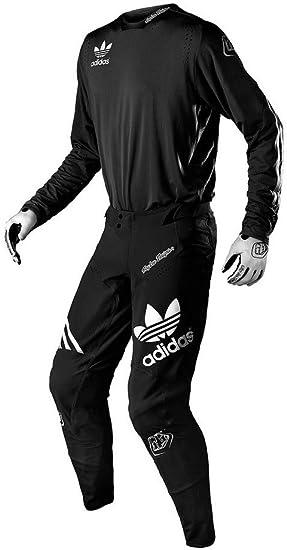 Grillo Lidiar con empujar  Troy Lee Designs 2019 Ultra MX Limited Adidas Team Jersey Pants Combo Black  L,36: Amazon.co.uk: Car & Motorbike