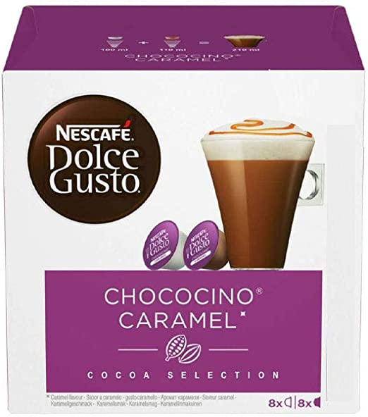 Amazon.com: Nescafe Dolce Gusto Chocolate Choco Caramel Pods ...