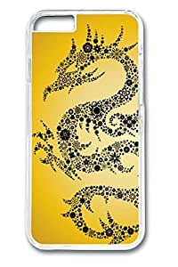 Brian114 China Dragon Oriental Style 17 Phone Case for the iPhone 6 Plus Clear
