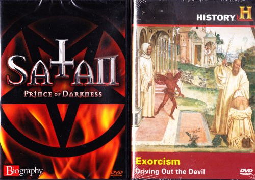 The History Channel Exorcism Driving Out the Devil , Biography Satan : Deal with the Devil 2 Pack