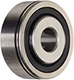 """The General 7508 DL Extra Light Extended Inner Ring Bearing, Double Sealed, No Snap Ring, Inch, 0.5"""" Bore, 1.75"""" OD, 3/4"""" Width, 707 lbs Static Load Capacity, 1366 lbs Dynamic Load Capacity"""