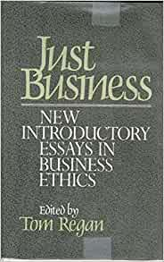essays in business ethics