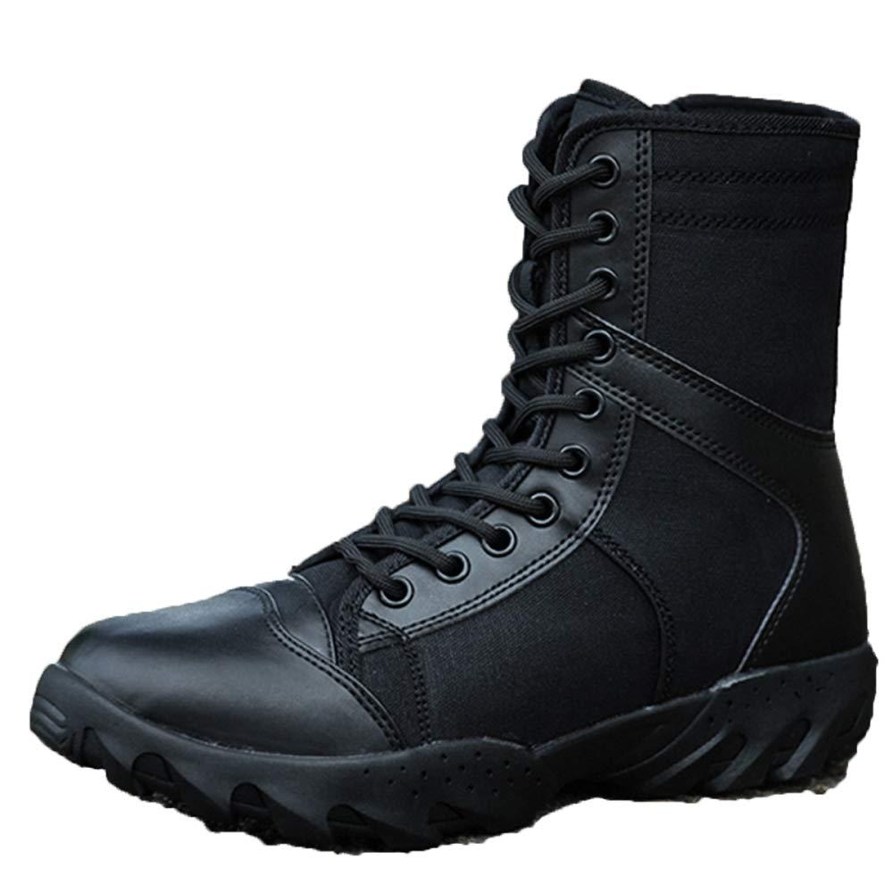 MYXUA Herrenstiefel Taktische Stiefel Patrol Atmungsaktive Leichte Armeestiefel Spezielle Soldatenstiefel