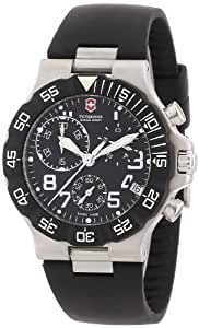 Victorinox Swiss Army Men's 241336 Summit XLT Analog Quartz Black Watch