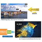 Bqeel M9Cmax Android 6.0 Marshmallow Am Logic S905X Chipset [2G DDR3/16G Emmc] 4K Android Tv Box Unlocked 2.4G WI-FI Smart Media Player, Pure Version