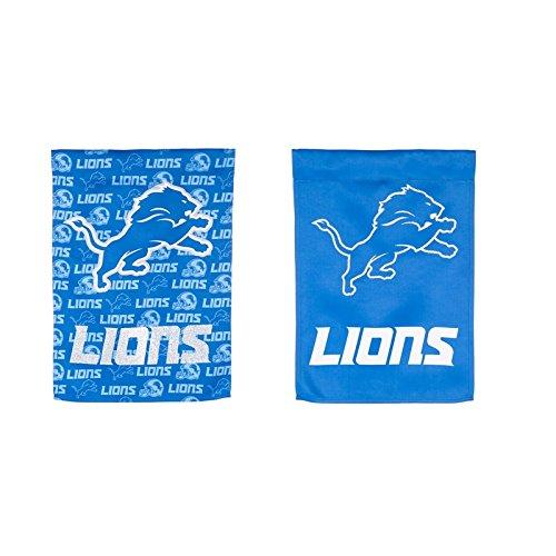 Team Sports America Detroit Lions Suede Garden Flag, 12.5 x