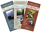 Detailed Guidemap to the Blue Ridge Parkway & Surrounding Area Complete Set (Southern, Central and Northern Sections, 3 maps)