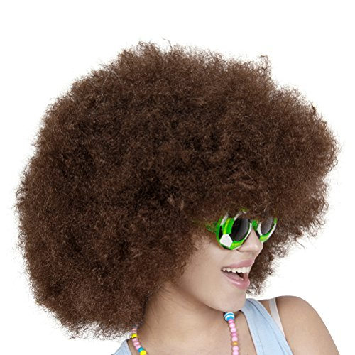 Tinksky Clown Wig Short Afro Wig Costume Wig